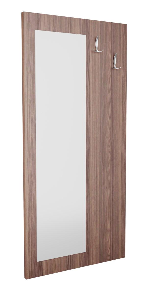 Панель с зеркалом и крючками
