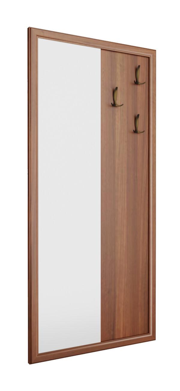 Вешалка с зеркалом и крючками